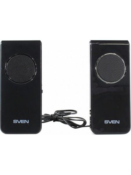 Колонки SVEN 314 Black (2x2W, питание от USB)