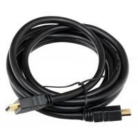 Кабель Telecom HDMI to HDMI (19M -19M) ver.1.4b, 2м, с позолоченными контактами