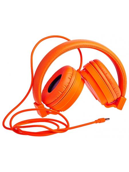 Наушники Partner Orange накладные оранжевые