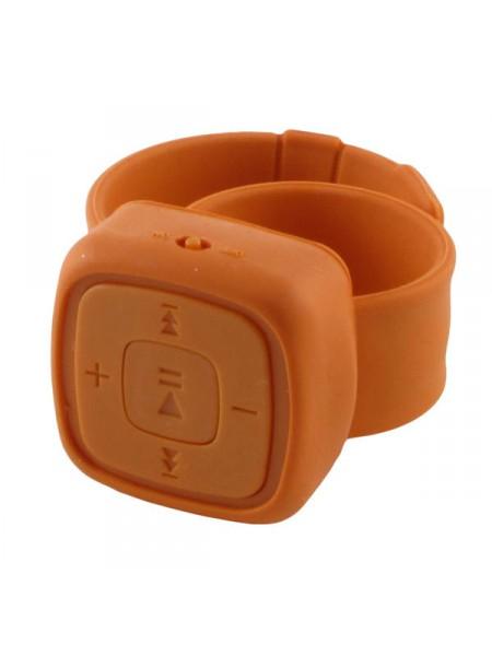 MP3-плеер Живи музыкой на руку оранжевый