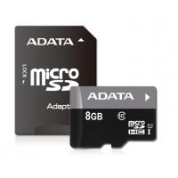 Карта памяти ADATA microSDHC Class 10 8GB