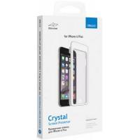 Защитная пленка Deppa iPhone 6 Plus прозрачная + Рамка для легкой установки