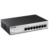 Коммутатор D-Link DES-1210-08P/C2A с 8 портами PoE управляемый