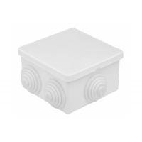 Коробка разветвительная/распаячная 70х70х40 Белая