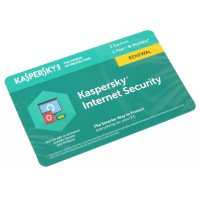 ПО Kaspersky Internet Security 2-Device 1 year карта продления