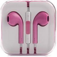 Гарнитура дизайн iPhone 5 розовая