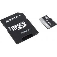 Карта памяти ADATA microSDHC-16Gb Class10+microSD