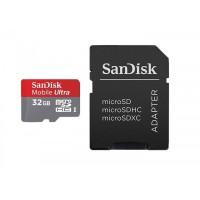 Карта памяти SanDisk Ultra microSDHC-32Gb Class10