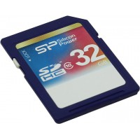Карта памяти Silicon Power SP032GBSDH004V10 SDHC Memory Card 32Gb Class4
