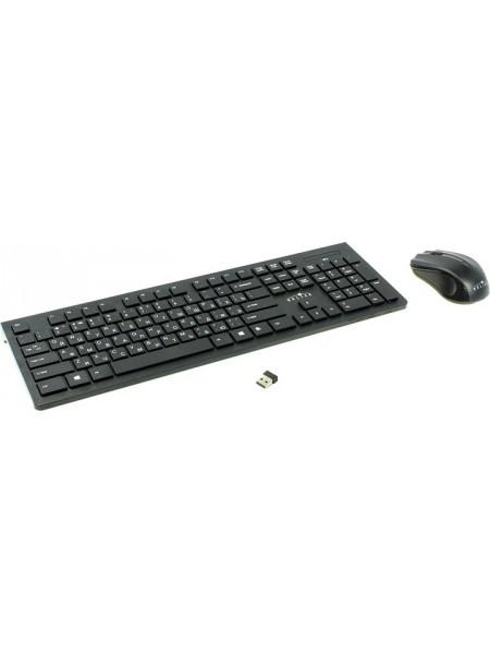 Комплект клавиатура+мышь беспроводная OKLICK