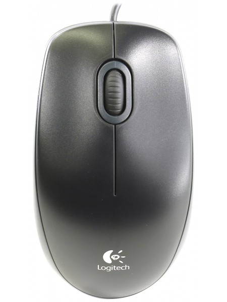 Мышь Logitech Optical Mouse B100 Black USB
