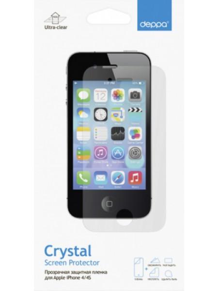 Защитная пленка Deppa для iPhone 4/4S глянцевая