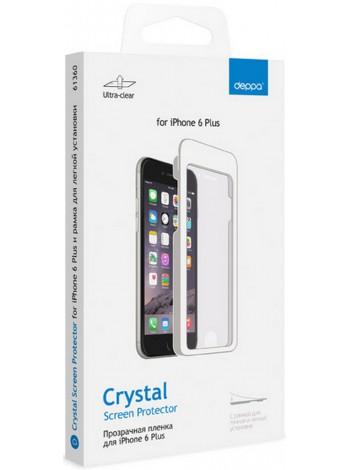 Защитная пленка DEPPA для iPhone 6 Plus глянцевая