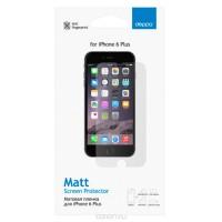 Защитная пленка DEPPA для iPhone 6 Plus матовая