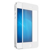 Защитное стекло iColor-02 для Apple iPhone 5/5S White