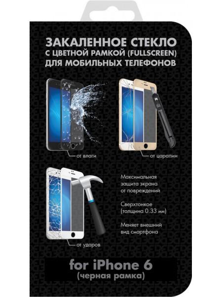 Защитное стекло iColor-03 для Apple iPhone 6 Black