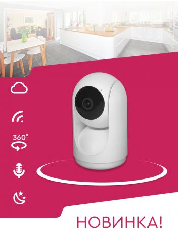 IP камера OMNY BASE miniPTZ2T поворотная Wi-Fi