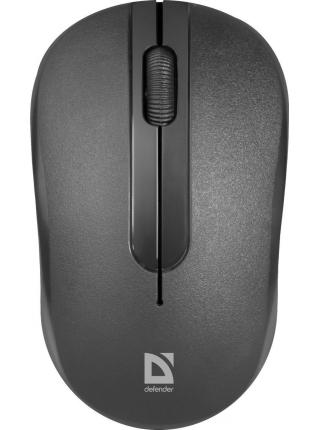 Беспроводная  Мышь USB 495 BLACK DEFENDER