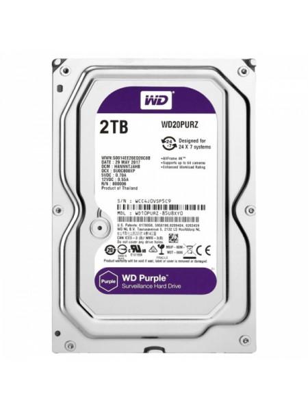 Жесткий диск Western Digital Purple 2 Тб WD20PURZ SATA
